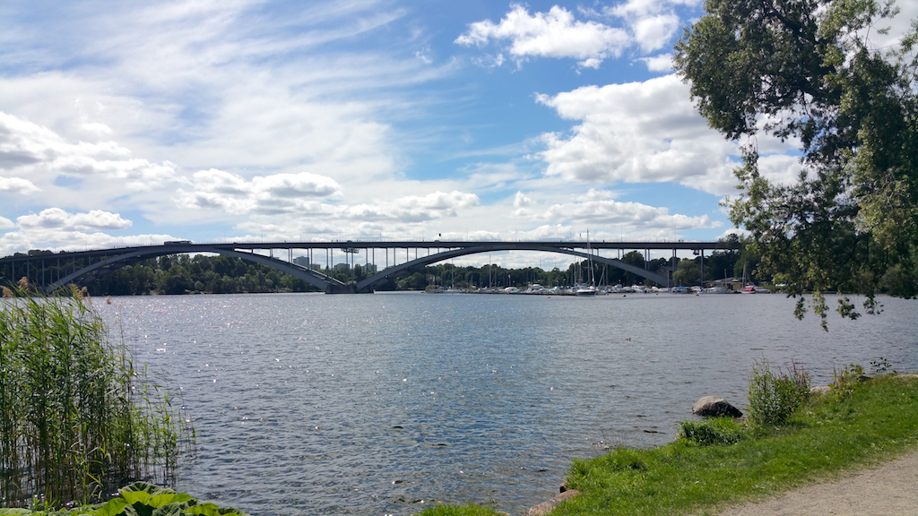 Kungsholmen, Stockholm, Sweden - Västerbron Bridge