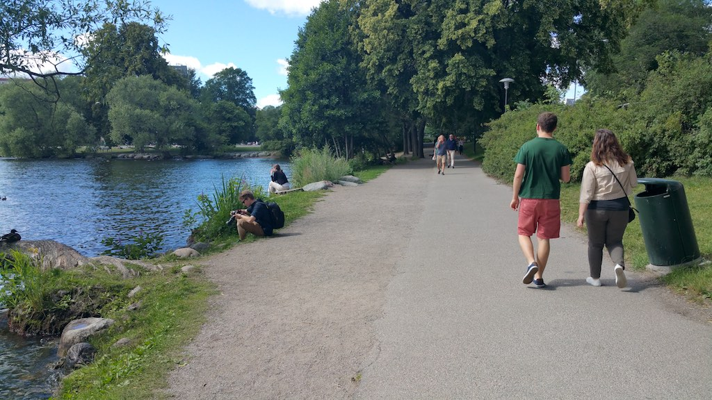 Kungsholmen, Stockholm, Sweden - Trail by the Lake Mälaren