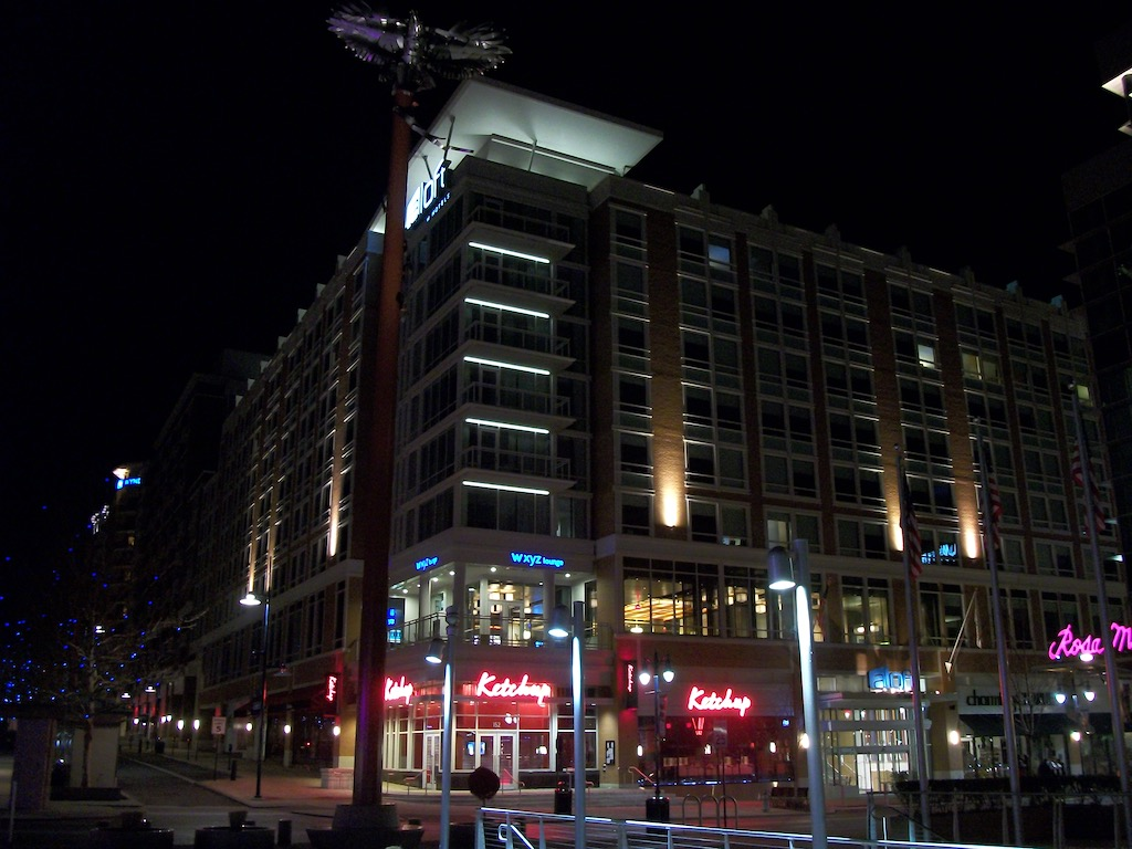 National Harbor, Fort Washington, Maryland USA - Aloft Hotel