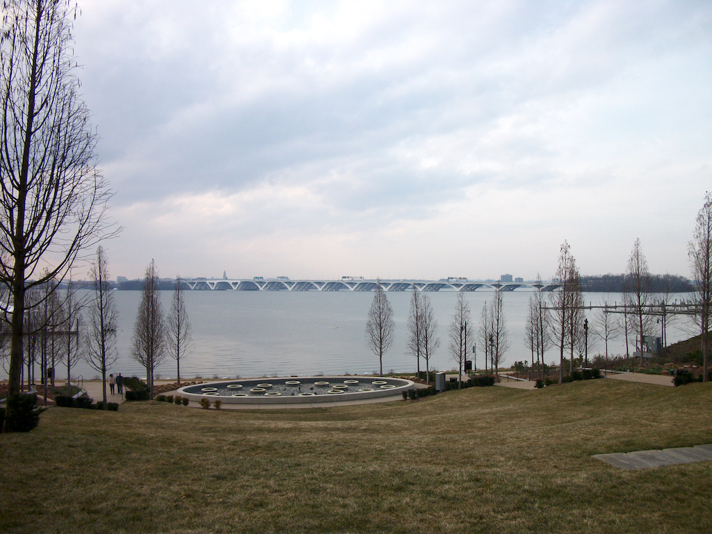 National Harbor, Fort Washington Maryland USA - Woodrow Wilson Bridge