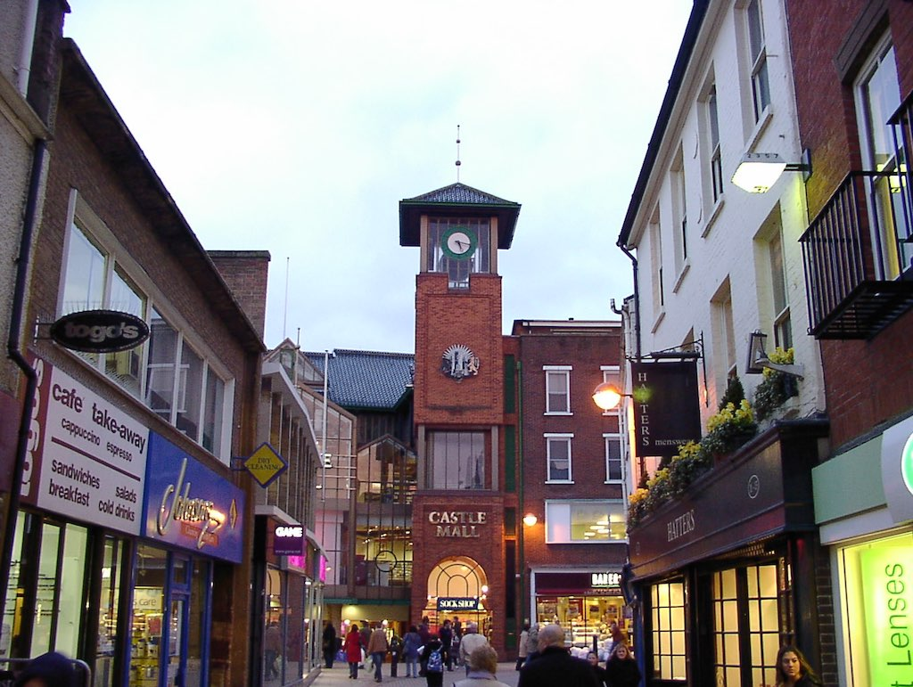 Norwich, United Kingdom - Castle Mall