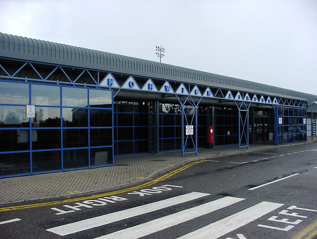 Norwich, United Kingdom - Norwich Airport