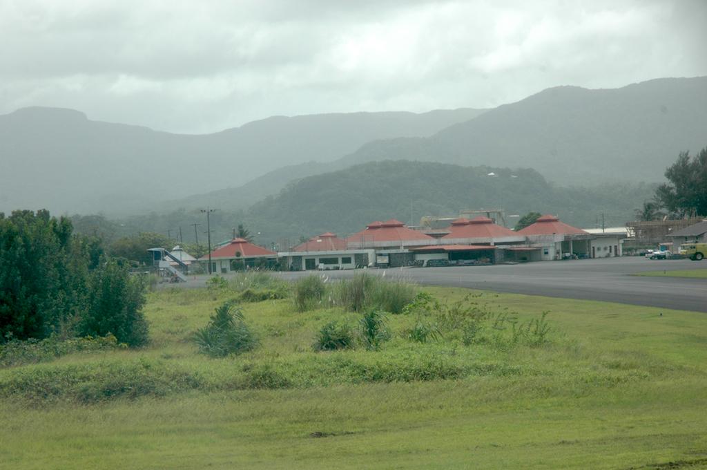 Pohnpei, Federates States of Micronesia - Airport Terminal