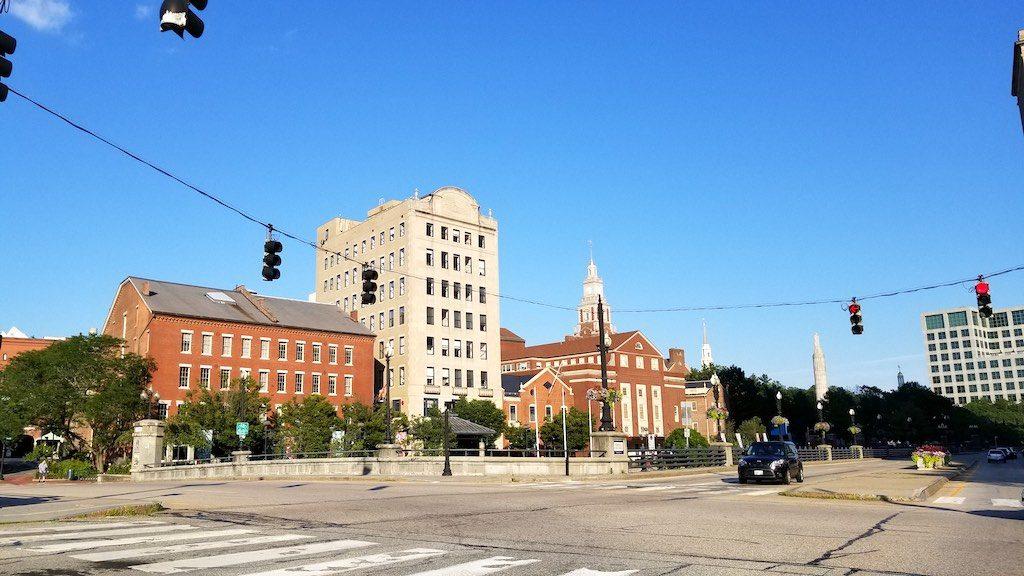Providence, Rhode Island USA - Downtown