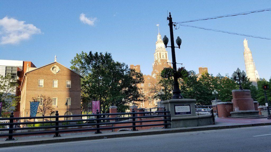 Providence, Rhode Island USA - Memorial Blvd