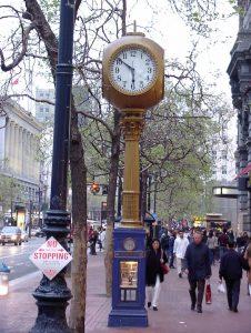 Santa Clara, California USA - Clock