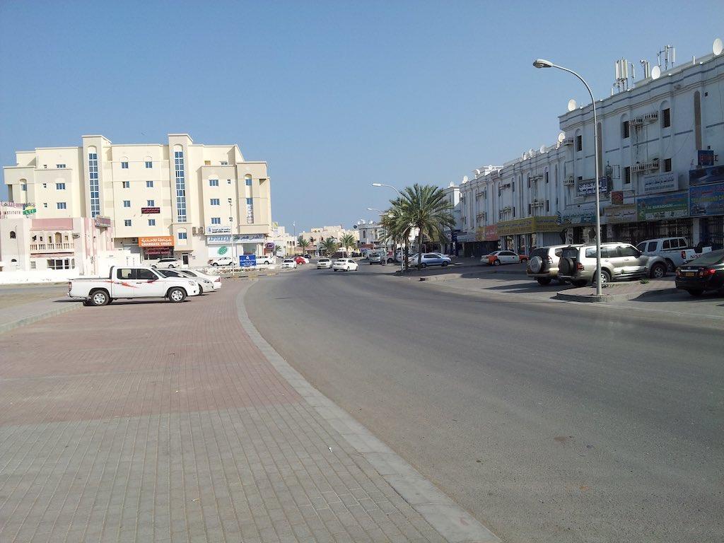 Seeb, Oman - Streets of Seeb