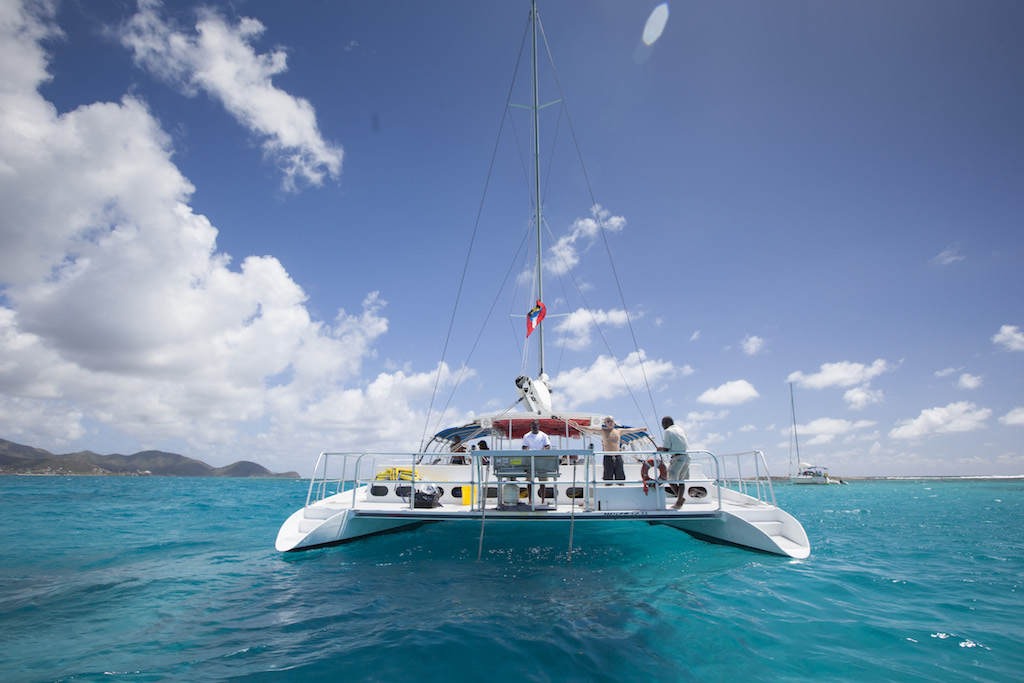 St. John's, Antigua and Barbuda - Catamaran
