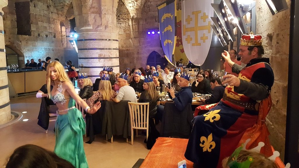 Akko, Israel - Akko Knights' Hall Dinner
