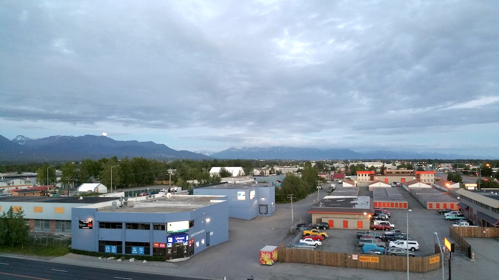Anchorage, Alaska USA - Land of the Midnight Sun