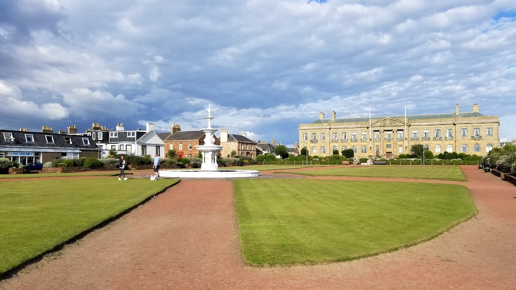 Ayr, Scotland, United Kingdom - Courthouse