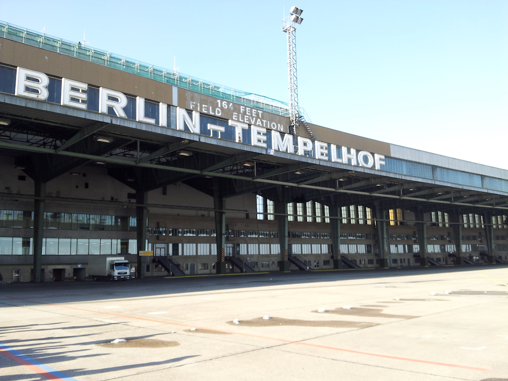 Berlin-Tempelhof Airport, Berlin Germany