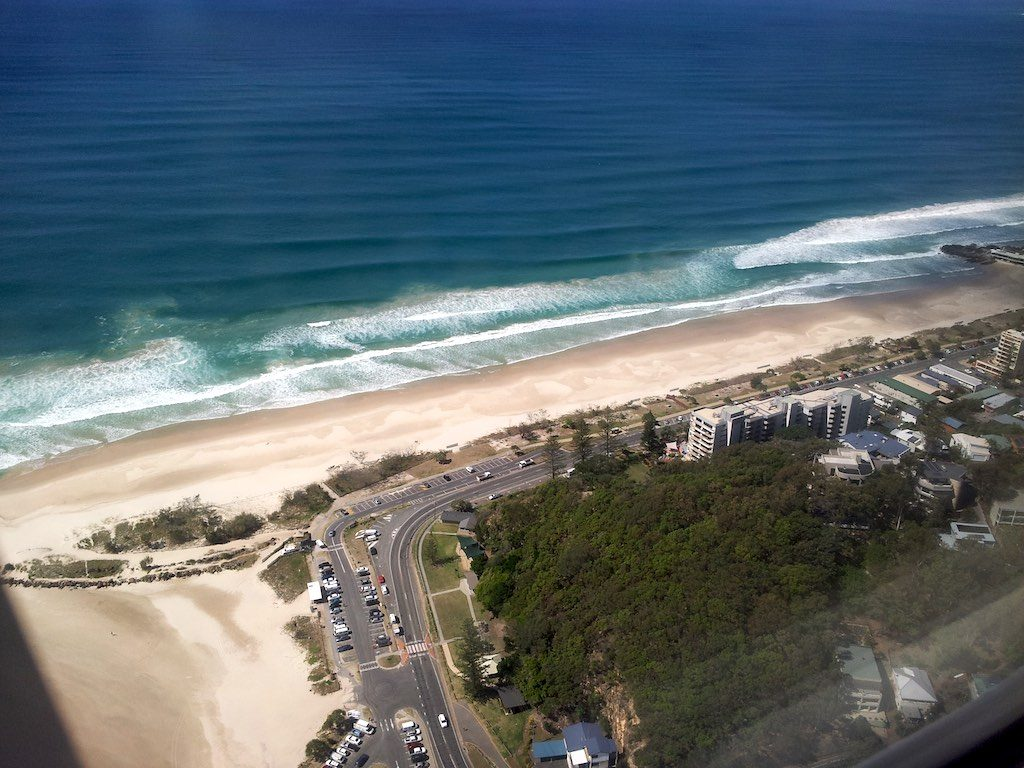Coolangata, Queensland, Australia - Beach Apartments - Beach from Above
