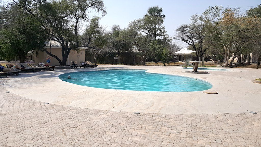 Etosha National Park, Namibia - Swimming Pool at the Accommodations on the Park property