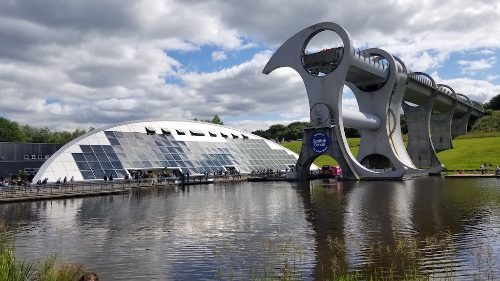 Falkirk, Scotland United Kingdom - The Falkirk Wheel