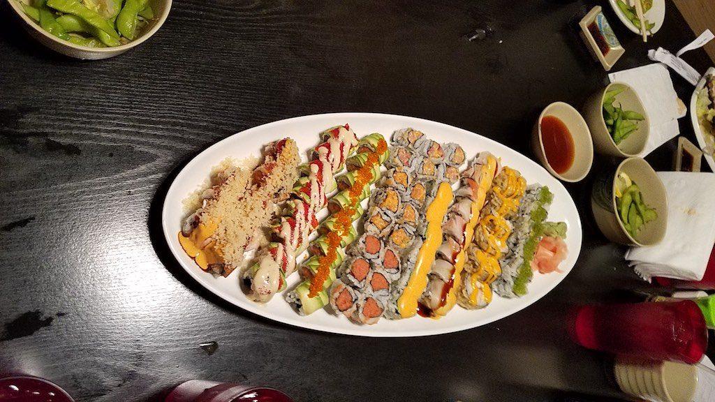 Indianapolis, Indiana USA - Sushi