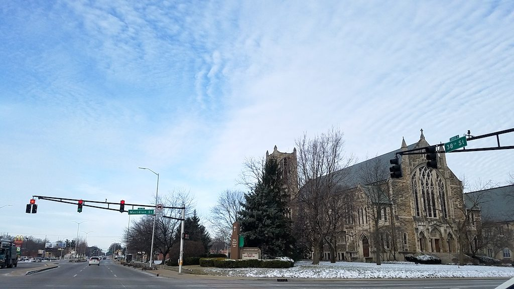 Indianapolis, Indiana USA - North Methodist Church