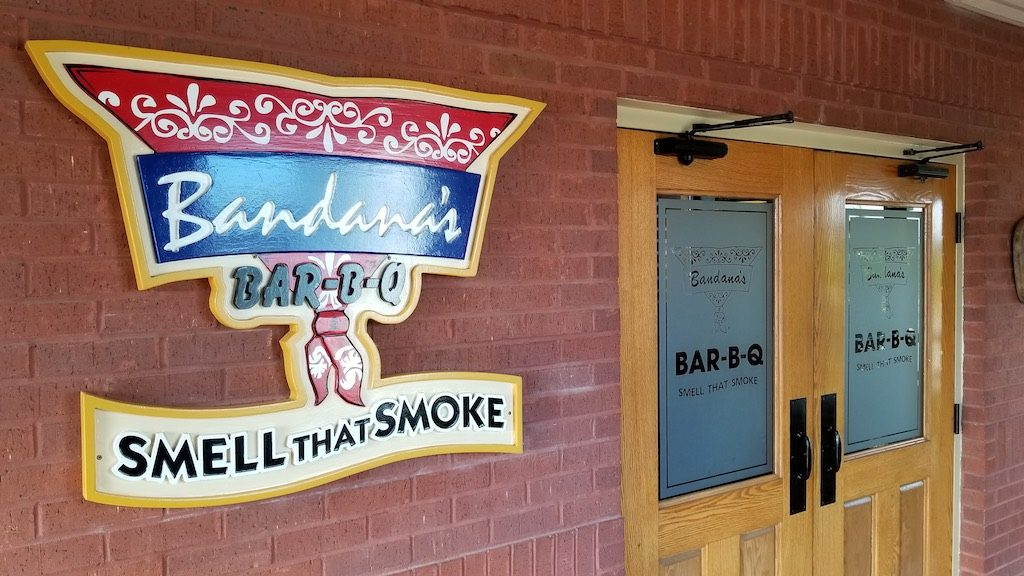 Jefferson City, Missouri USA - Bandana's BBQ Restaurant