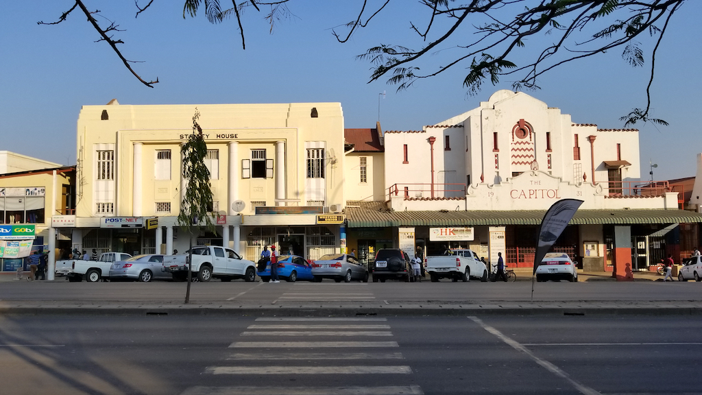 Livingstone, Zambia - Stanley House and The Capitol