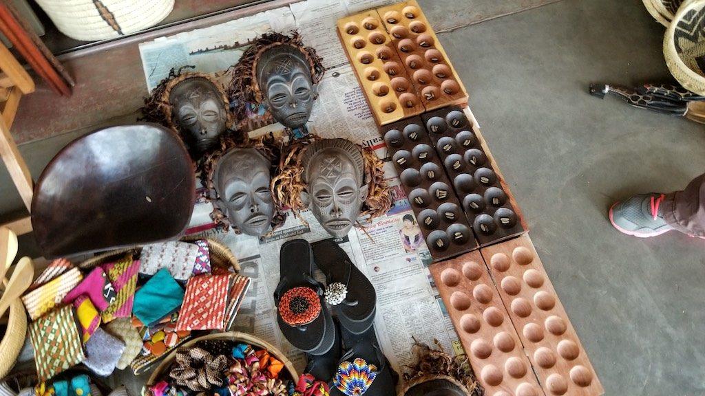 Livingstone, Zambia - Craft Market
