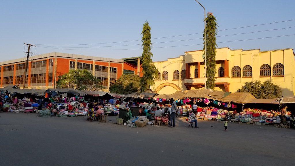 Livingstone, Zambia - Market