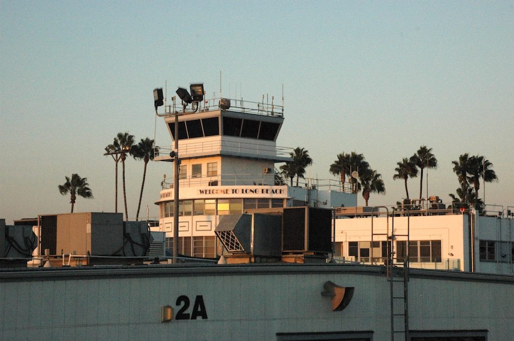 Long Beach Airport, Long Beach, California USA (LGB) - Airside