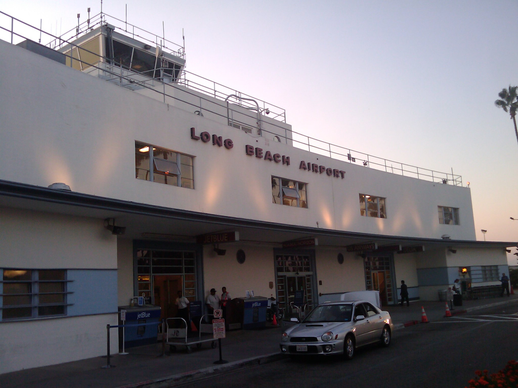 Long Beach Airport, Long Beach, California USA (LGB) - Curbside