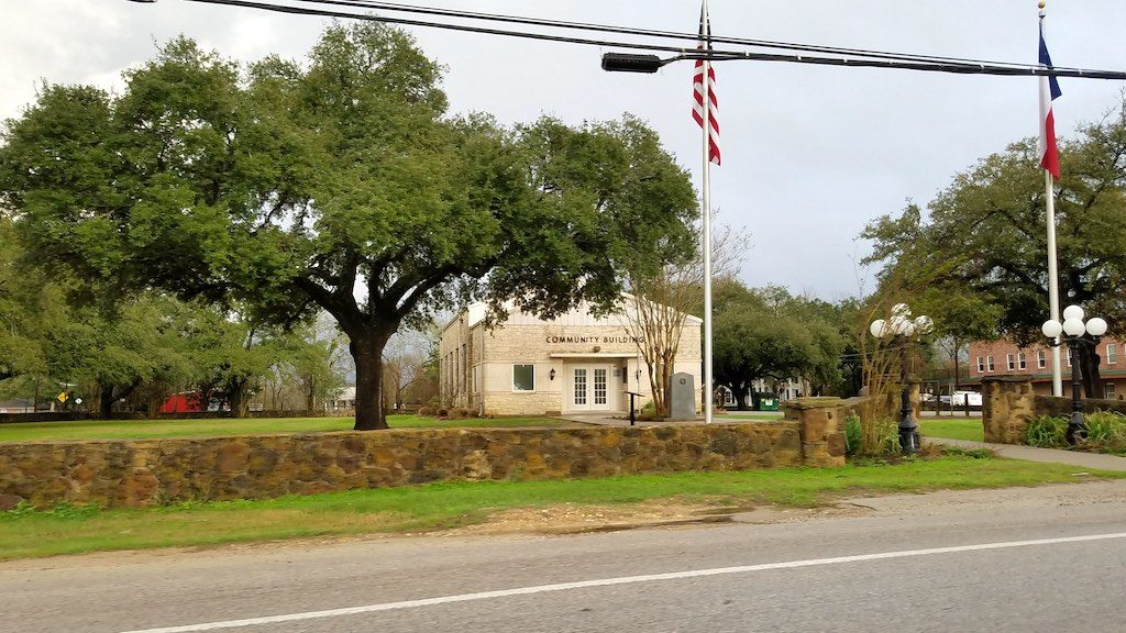 Montgomery, Texas USA - Community Building