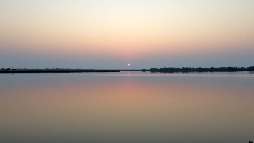 Okavango Delta - Botswana - sunset