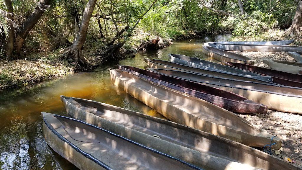 Okavango Delta, Botswana - Mokoro canoes