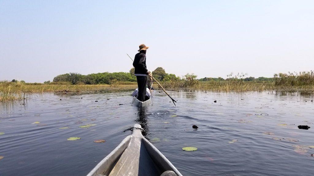 Okavango Delta - Botswana - Mokoro canoeing