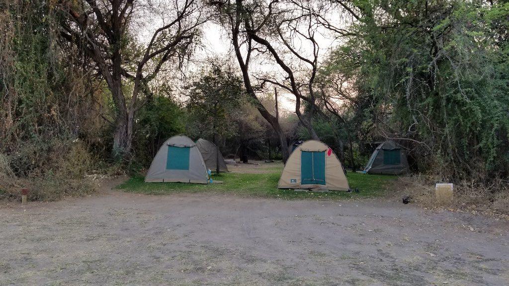 Okavango Delta - Botswana - camping