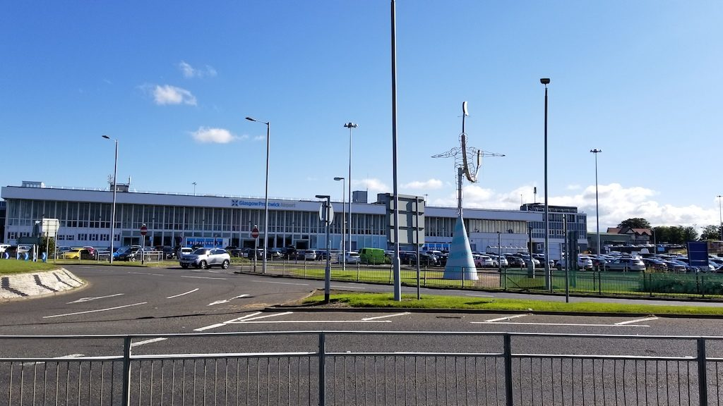 Prestwick, Scotland United Kingdom - Prestwick Airport (PIK)