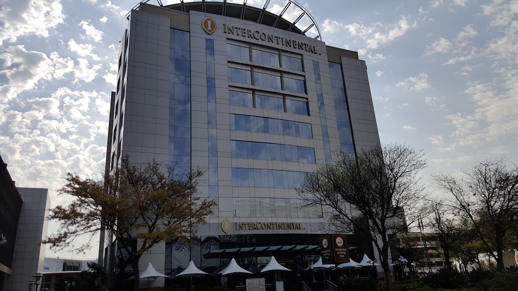 Sandton, Johannesburg, South Africa - Intercontinental Airport Hotel