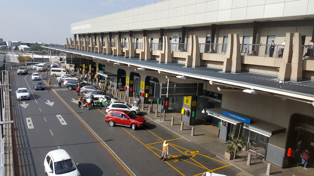 Sandton, Johannesburg, South Africa - OR Tambo International Airport (JNB)
