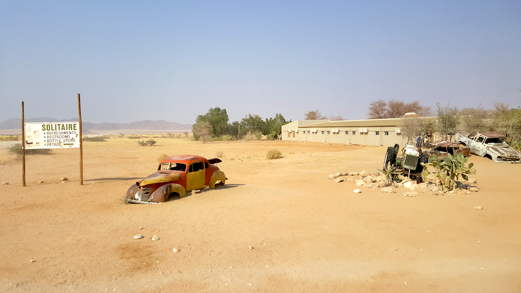 Solitaire, Namibia - Front