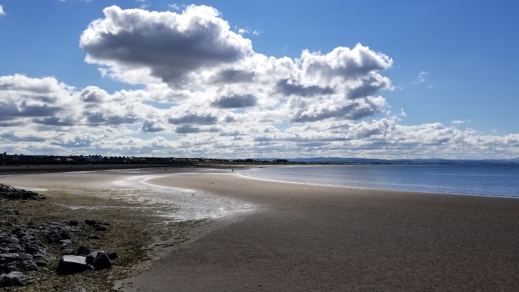 Troon, Scotland United Kingdom - Beach