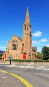 Troon, Scotland United Kingdom - Church