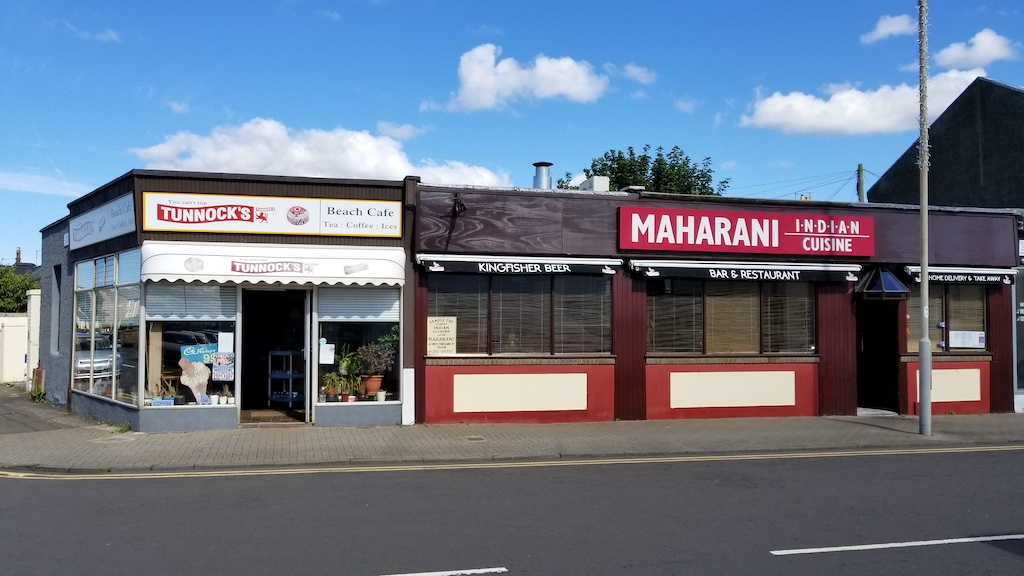 Troon, Scotland United Kingdom - Maharani Indian Cuisine