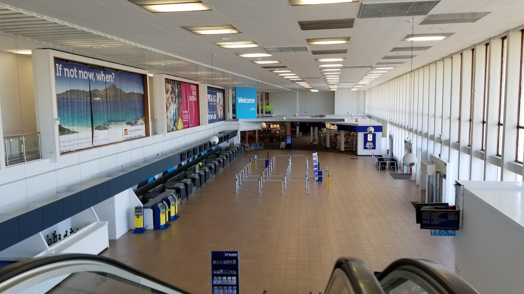 Troon, Scotland United Kingdom - Prestwick Airport