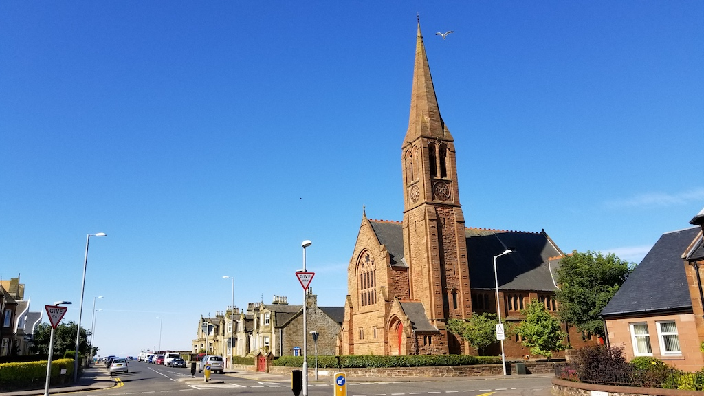 Troon, Scotland United Kingdom - St. Meddan's Parish Church