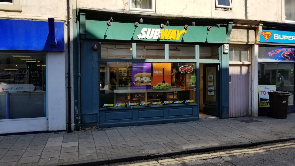 Troon, Scotland United Kingdom - Subway