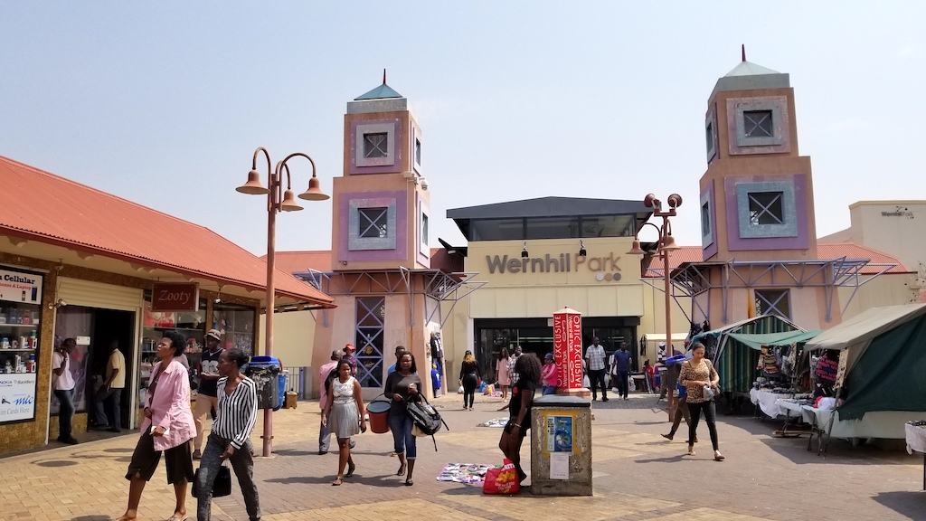 Windhoek,Namibia - Wernhill Park Mall