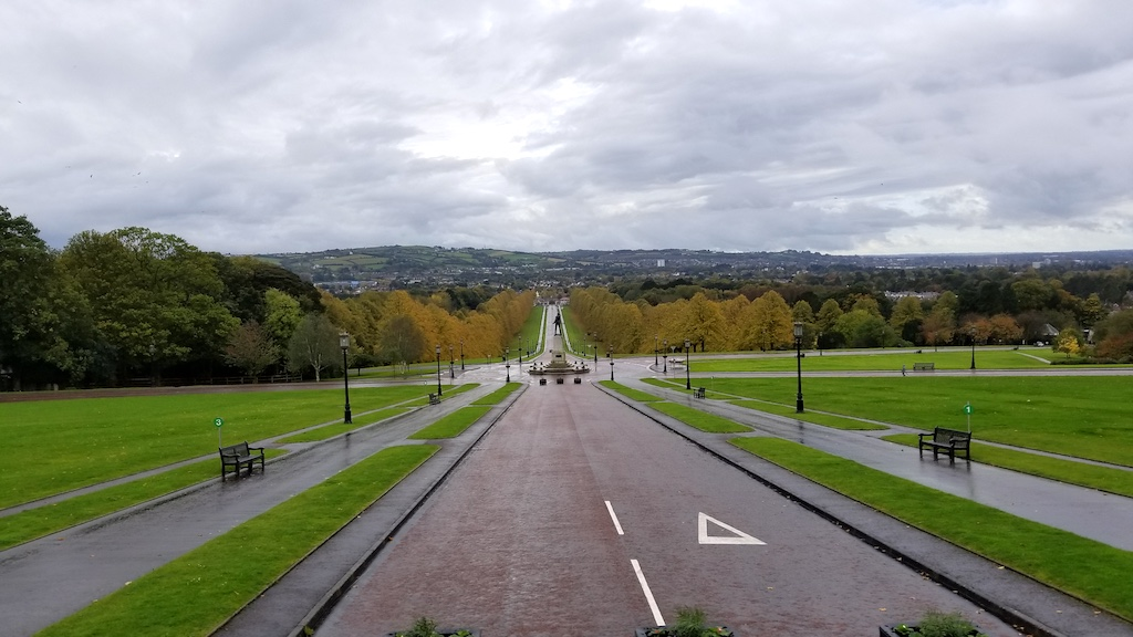 Belfast City, Northern Ireland United Kingdom - Parliament House The view
