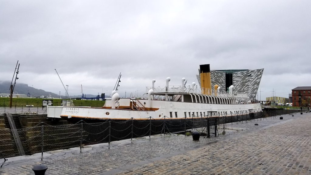 Belfast City, Northern Ireland United Kingdom - The Titanic Experience