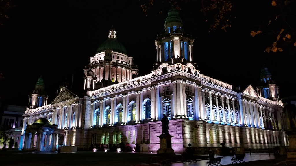 Belfast City, Northern Ireland United Kingdom - City Hall