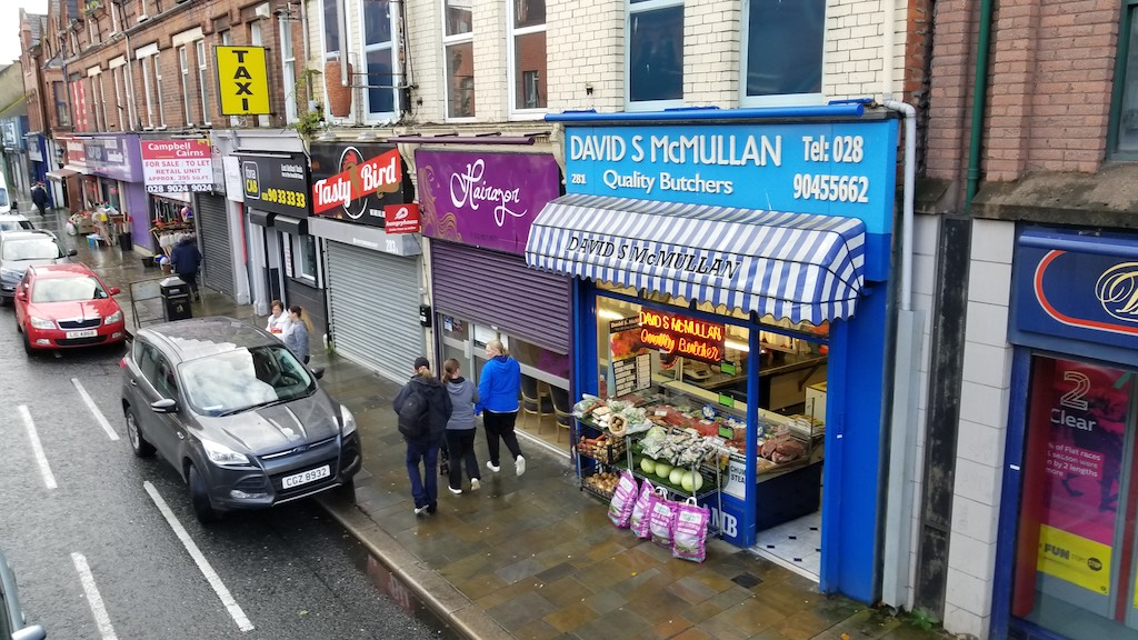 Belfast City, Northern Ireland United Kingdom - David S McMullan Quality Butcher