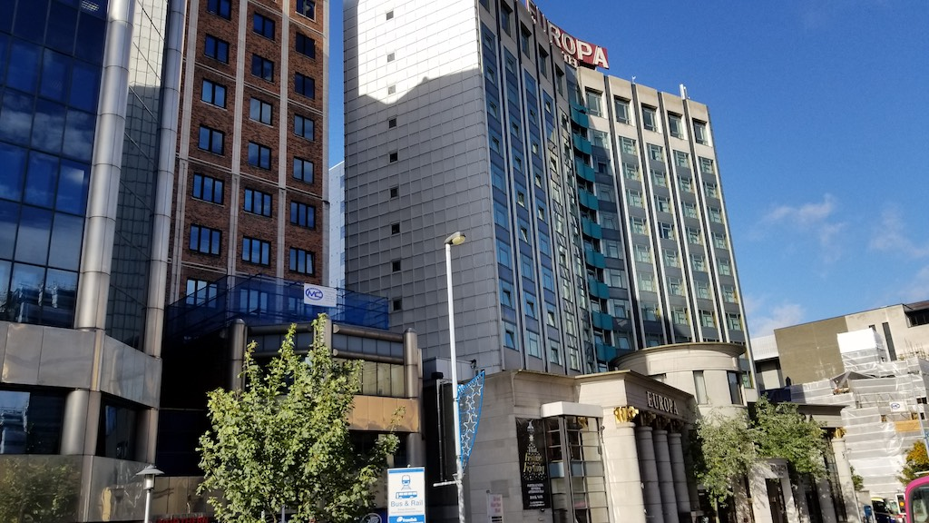 Belfast City, Northern Ireland United Kingdom - Europa Hotel