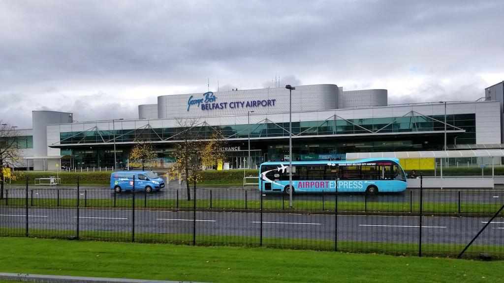 Belfast City, Northern Ireland United Kingdom - George Best Belfast City Airport (BHD)