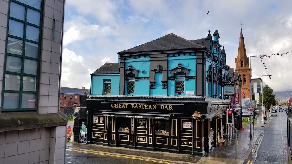 Belfast City, Northern Ireland United Kingdom - Great Eastern Bar
